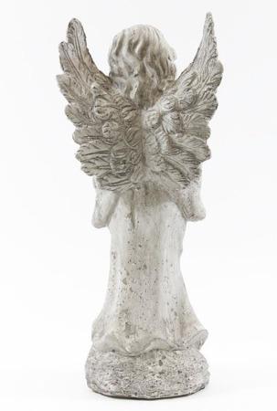 [Dekoracje Ogrodowe]Figurka CERAMICZNA Anioł H:37