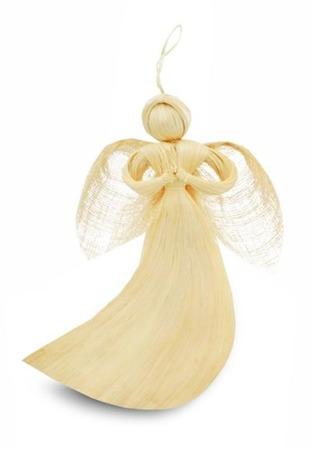 Anioł wiszący z włókna 20cm