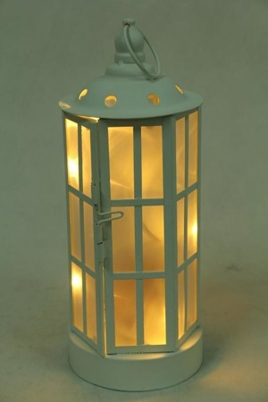 LAMPION METALOWY LED-PRZEC.