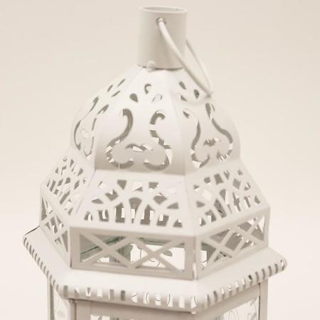 Lampion metalowy 30 x 15 x 13 cm