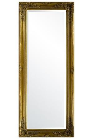 Lustro złota rama 54x134x4