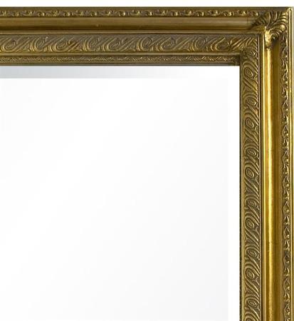 Lustro złota rama  55X135X4
