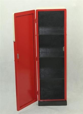 Szafka dystrybutor czerwona 26x88