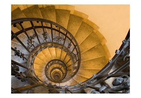 Fototapeta - Stone steps in ancient tower
