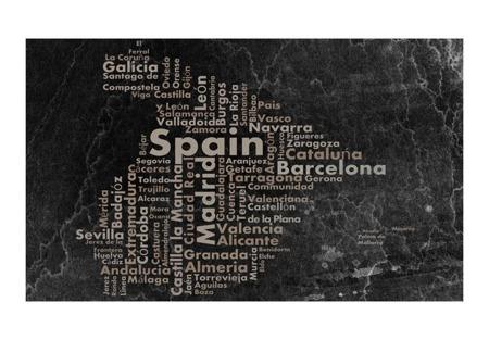 Fototapeta - Hiszpania - miasta i miasteczka