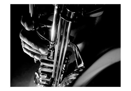 Fototapeta - Muzyka i saksofon