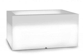Donica podświetlana LED LUNGO POT Zimna Barwa H:38