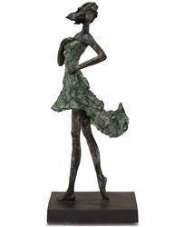 Figura Lady ciemny szary