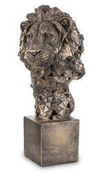 Figurka Lew złoty H: 43 cm