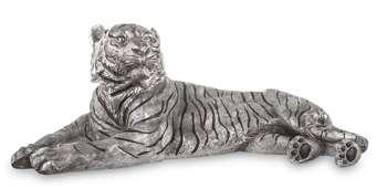 Figurka Tygrys złoty H: 29 cm