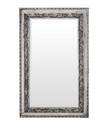 Kryształowe Lustro Dekoracyjne Srebrna Rama h:115