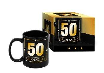 Kubek urodzinowy PIĘĆDZIESIĄTKA 300 ml