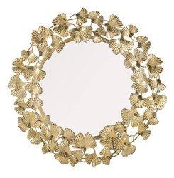 Lustro Dekoracyjna Złota Rama 90x90 Duże