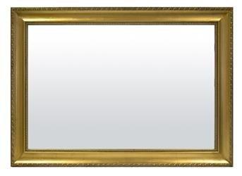 Lustro Dekoracyjne Złota Drewniana Rama 75x105x4cm