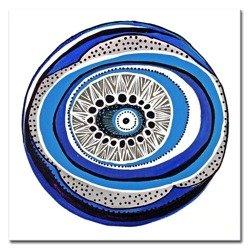 """Obraz """"Abstrakcje"""" - olejny, ręcznie malowany 40x40cm"""