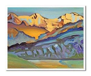 """Obraz """"Abstrakcje"""" - olejny, ręcznie malowany 43x53cm"""