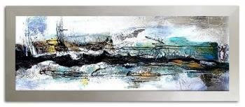 Obraz - Abstrakcje - olejny, ręcznie malowany 62x162cm