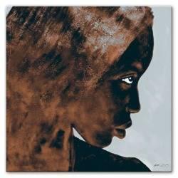 Obraz - Afryka - olejny, ręcznie malowany 90x90cm