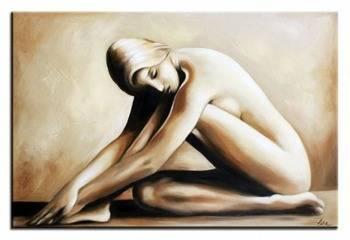 """Obraz """"Akty"""" ręcznie malowany 60x90cm"""