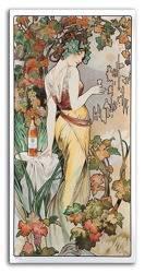 Obraz - Alfons Mucha reprodukcja 90x45 cm