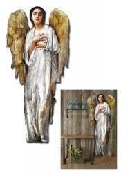 """Obraz """"Anioły"""" ręcznie malowany 70x180cm"""