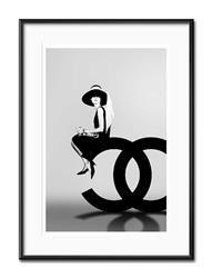 """Obraz """"Audrey Hepburn"""" reprodukcja 31x41cm"""