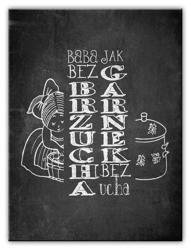 Obraz - Black&White 50x70 cm