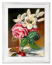 """Obraz """"Bukiety mieszane """" ręcznie malowany 39x49cm"""