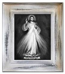 """Obraz """"Chrystus"""" ręcznie malowany 66x76cm"""
