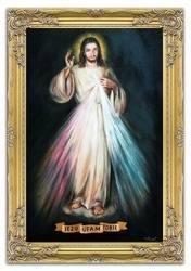 """Obraz """"Chrystus"""" ręcznie malowany 75x105cm"""