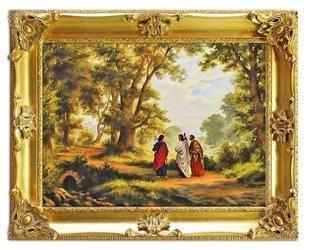 """Obraz """"Chrystus"""" ręcznie malowany 75x95cm"""