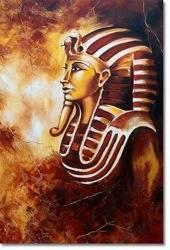Obraz - Egipt - olejny, ręcznie malowany 50x70cm
