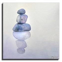 """Obraz """"Feng shui"""" ręcznie malowany 60x60cm"""