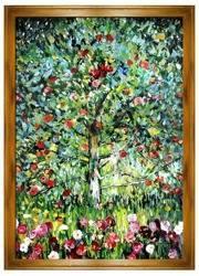 """Obraz """"Gustaw Klimt"""" ręcznie malowany 200x140cm"""