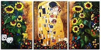 """Obraz """"Gustaw Klimt"""" ręcznie malowany 50x70 x 3"""