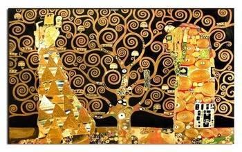 """Obraz """"Gustaw Klimt"""" ręcznie malowany 73x116cm"""