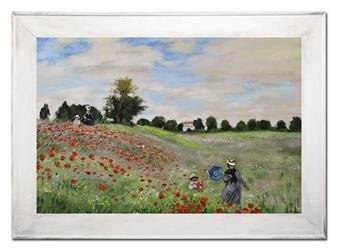 """Obraz """"Impresjonisci"""" ręcznie malowany 72x92cm"""