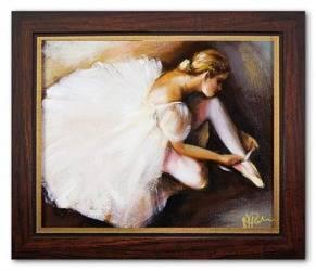 Obraz - Inne - olejny, ręcznie malowany 27x32cm