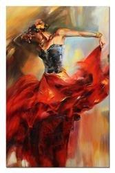 """Obraz """"Inne"""" ręcznie malowany 110x170cm"""