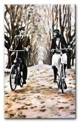 """Obraz """"Inne"""" ręcznie malowany 200x125cm"""