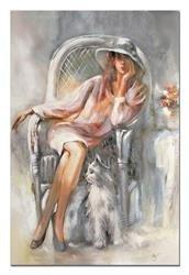 """Obraz """"Inne"""" ręcznie malowany 60x90cm"""