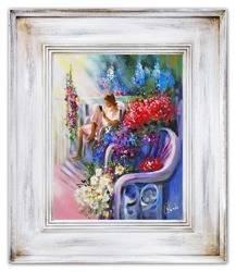 """Obraz """"Inne"""" ręcznie malowany 66x76cm"""