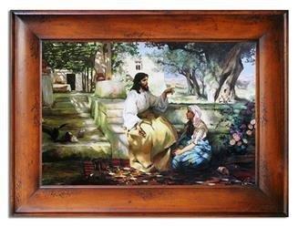 """Obraz """"Inne- religijne"""" ręcznie malowany 87x117cm"""