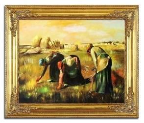 """Obraz """"Inni"""" ręcznie malowany 53x64cm"""