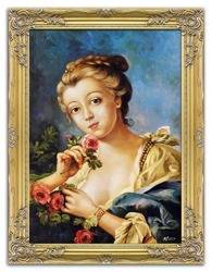 """Obraz """"Inni"""" ręcznie malowany 67x87cm"""
