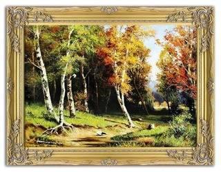 """Obraz """"Iwan Iwanowicz Szyszkin """" ręcznie malowany 64x84cm"""