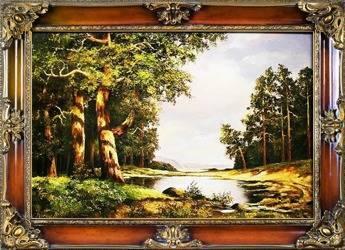 """Obraz """"Iwan Iwanowicz Szyszkin """" ręcznie malowany 75x95cm"""