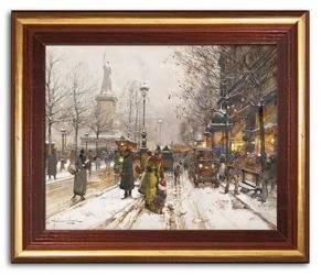 Obraz - Kopie mistrzów malarstwa 24x29cm