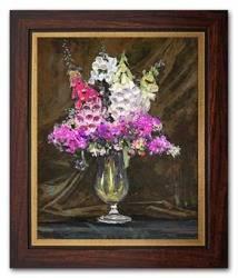 """Obraz """"Kwiaty"""" reprodukcja 27x31cm"""