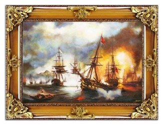 """Obraz """"Marynistyka"""" ręcznie malowany 85x115cm"""